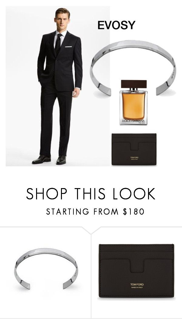 """Killer Looks"" by evosy on Polyvore featuring Tom Ford, Dolce&Gabbana, men's fashion, menswear, jewelry, bracelets et polyvoreeditorial"