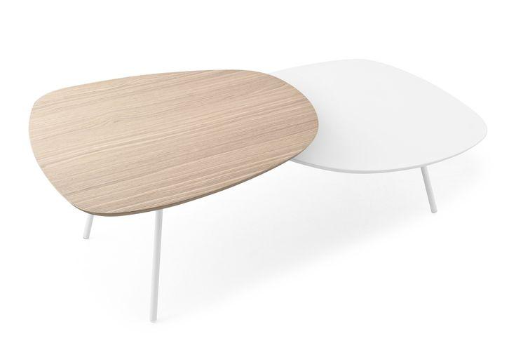 Tavolino basso TWEET Collezione Tavolini by Calligaris | design Gino Carollo