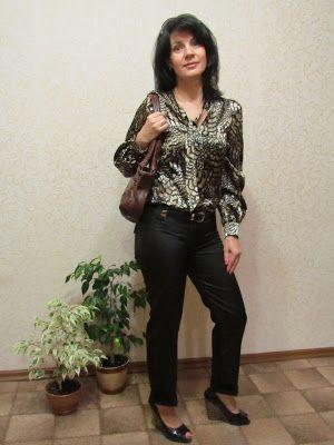 Anzhelika Grebeniuk: И еще одна блузка!