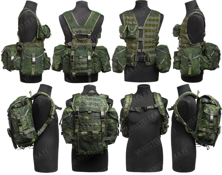 Hiking light? Skip the backpack and use vest/belt + butt-pack and ammo pouches?