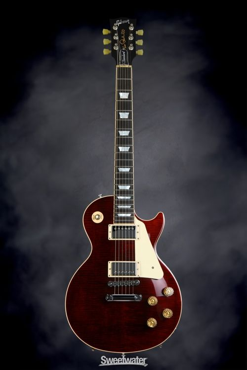 Gibson Les Paul Standard - Wine Red Candy | Sweetwater.com