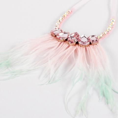 The Fly My Princess Necklace from the #siennalikestoparty #luxjewels collection.  #kidsjewels #kidslux #princess #statementnecklaces www.siennalikestoparty