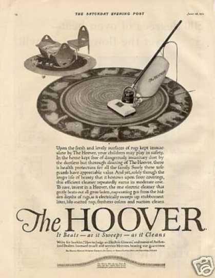 Hoover Vacuum Cleaner (1921