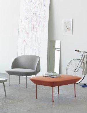 OSLO   Modern Scandinavian Design Sofa Pouf By Muuto   Muuto