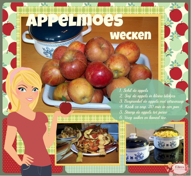 Appelmoes wecken