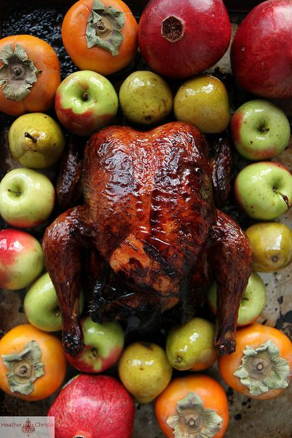 Red Wine Lacquered Turkey
