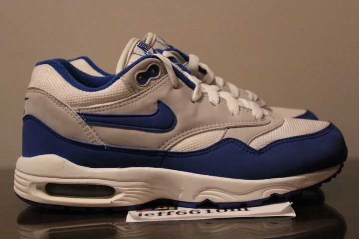 2000 Nike Air Max Burst SC Size 5.5Y Game Royal White 655031