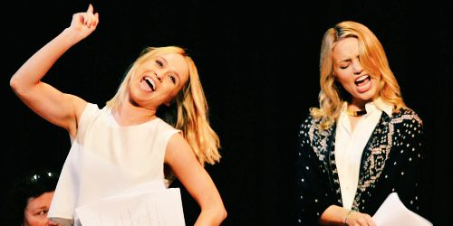 Image result for dianna agron and becca tobin