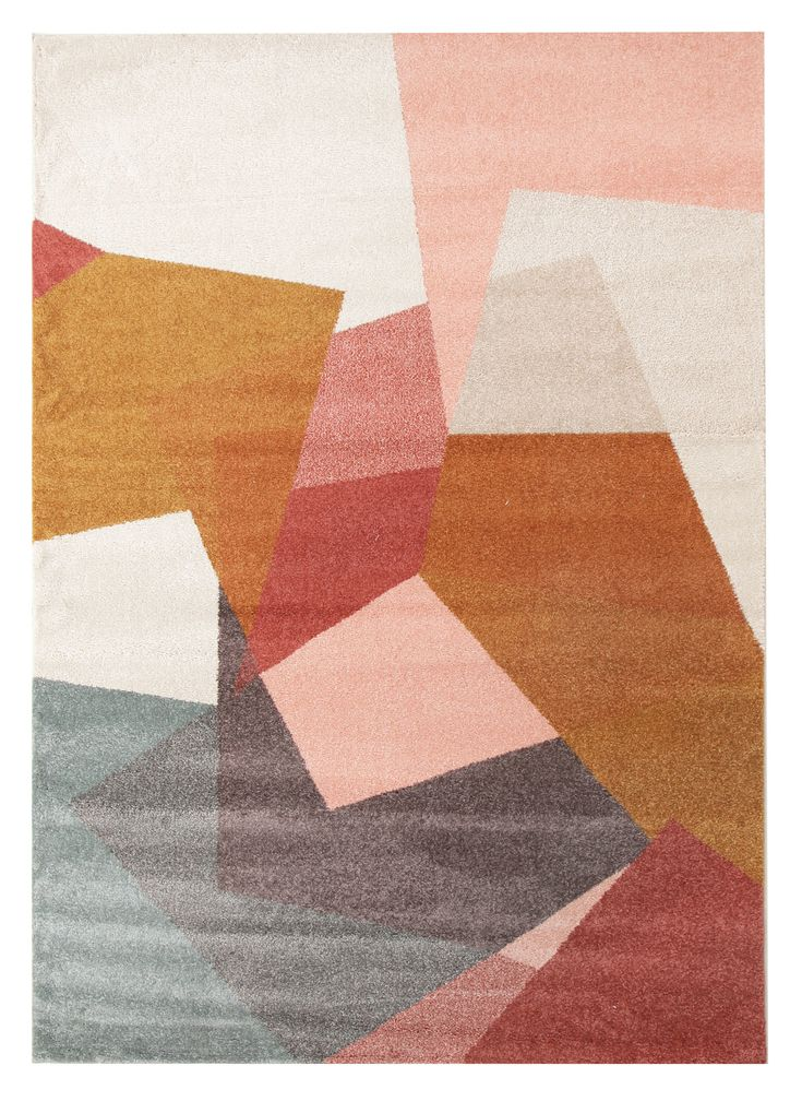 Ruben Blush Power Loomed Modern Rug by Network Rugs. Get it now or find more All Rugs at Temple & Webster.