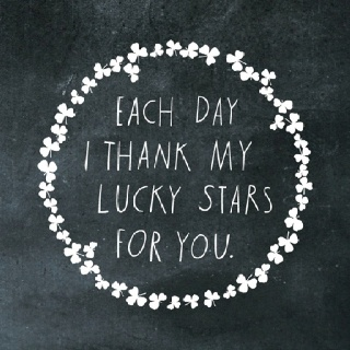 Every day: Stars Tiding, Lucky Stars, Shanna Murray, Quotes, Murray Illustrated, Wall Decal