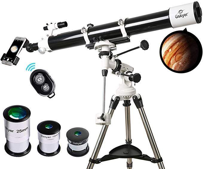 Telescope, 90mm Astronomy Refractor Telescopes with