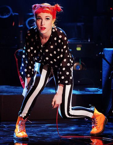 She's basically Björk for teens. | 14 Reasons Hayley Williams Is The Perfect Punk Role Model