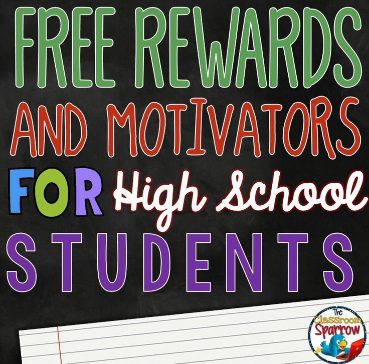 While it is simple for us to think about what would make us work to our highest ability as teachers, it is often more difficult to recognize some rewards and/or positive reinforcements for our high school students in our classrooms.