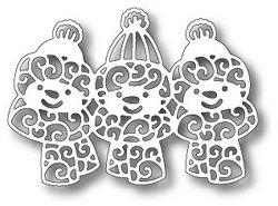 Tutti Designs - Cutting Die - Snowman Trio