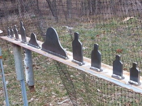 Image result for homemade metal shooting targets
