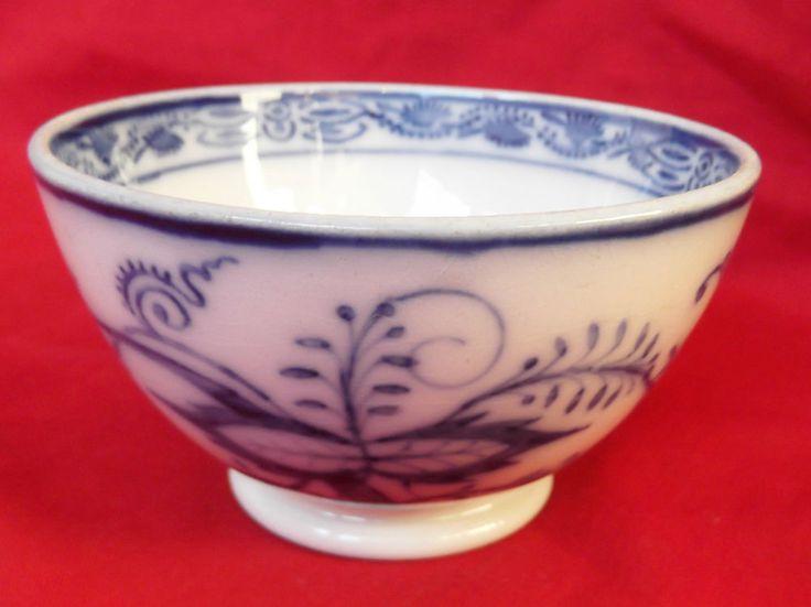 Antique Villeroy Amp Boch Dresden Onion Pattern Tea Bowl