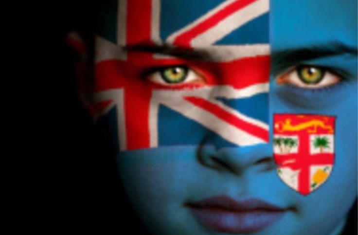 Fiji Flag Boy Capital: Suva