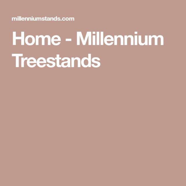 Home - Millennium Treestands