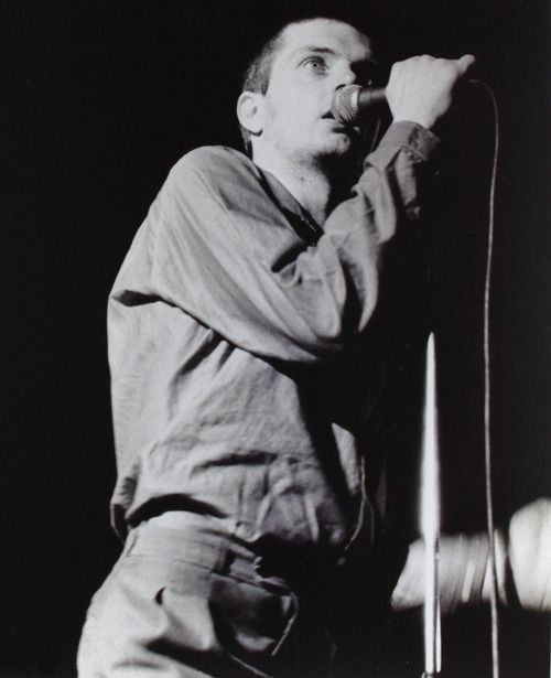 Joy Division: Ian Curtis by Barry Plummer, ca 1979