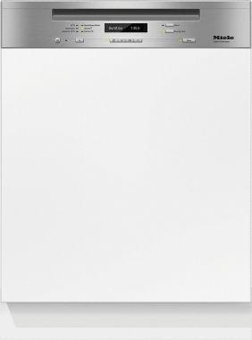 Miele G6730sci clean steel Standard Semi Integrated Dishwashers