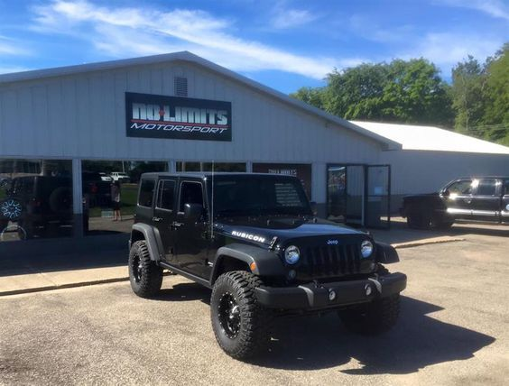Lifted 2016 Rubicon by No Limits Motorsport in Plainwell MI . Click to view more photos and mod info.