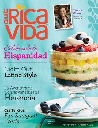 Qué Rica Vida Revista - Septiembre - Octubre 2013