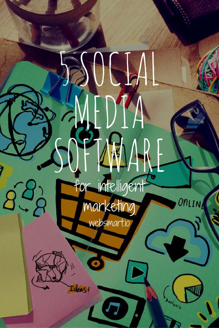 5 Social Media Software that will help you develop your digital marketing #socialmedia #marketing #software https://goo.gl/PwGxXz