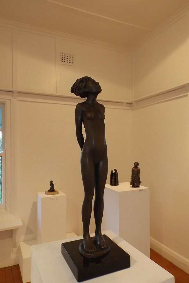 Works exhibited in Out of the furnace: Bronzes from the Foundry', Gallery Two, Strathnairn Arts, 6 August – 30 August 2015