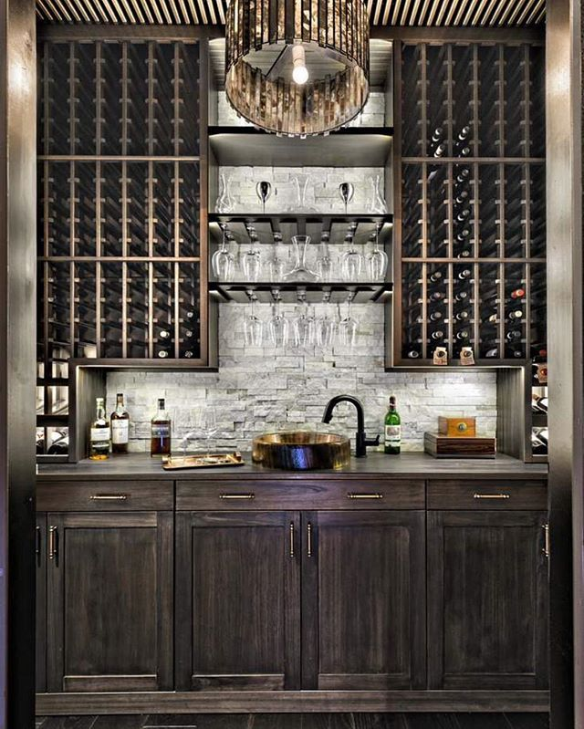 What An Amazing Bar Area!   By Affinity Construction  