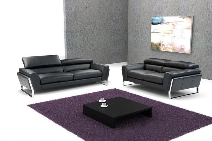 Divani Casa 798 - Modern Italian Leather Sofa Set