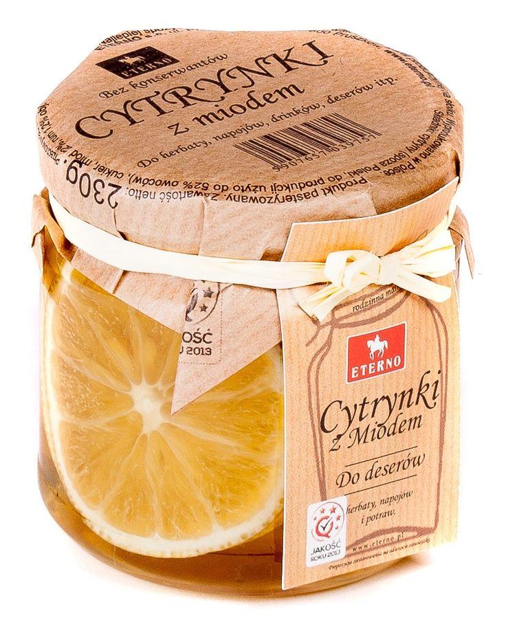 Cytrynki z miodem