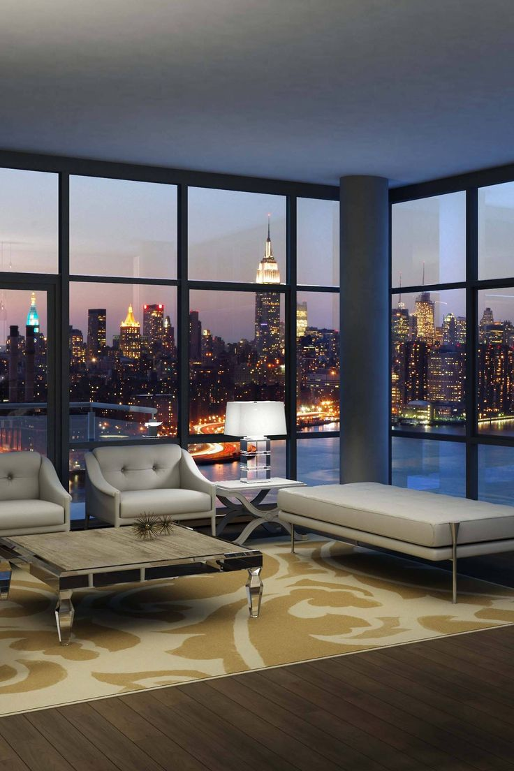 City apartments interior - New York City Penthouse