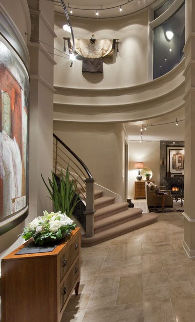 Luxury Foyer Interior : Best ideas about luxury staircase on pinterest grand