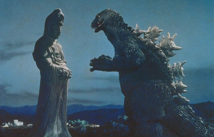 Cut scene from King Kong vs. Godzilla