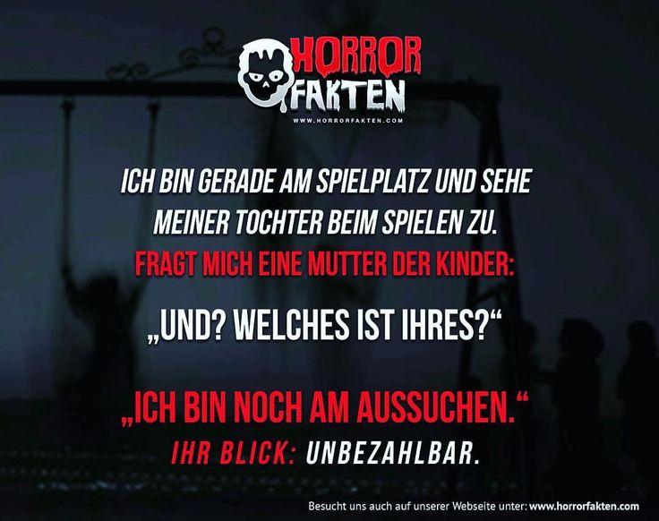 Muss man bringen #horrorfakten