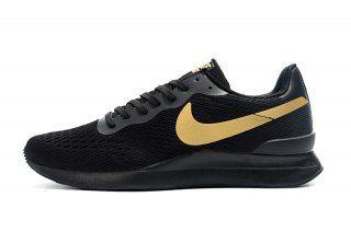 new arrival 9b857 cee17 Mens Nike Internationalist LT17 Casual Sneakers Black Gold 872087 007