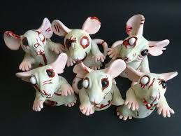 Image result for fimo zombie pendant