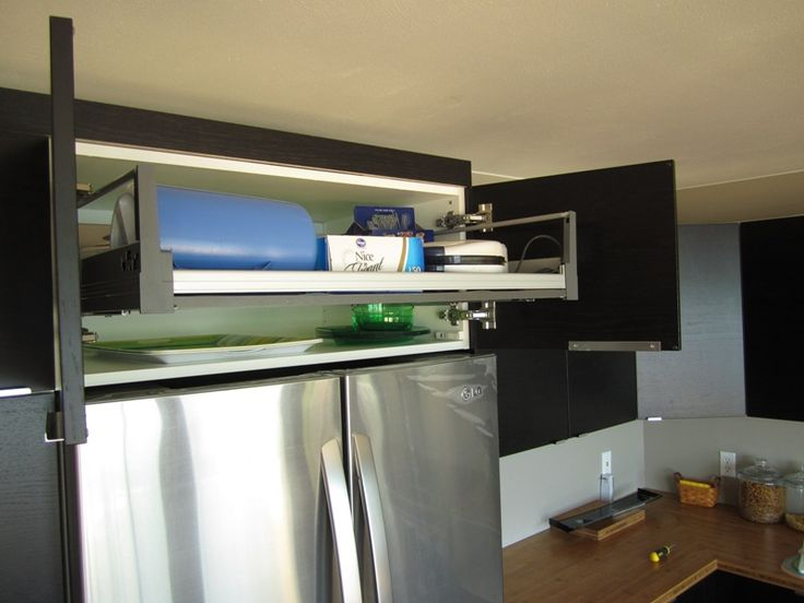 17 best images about above the fridge cab on pinterest for Ikea fridge cabinet