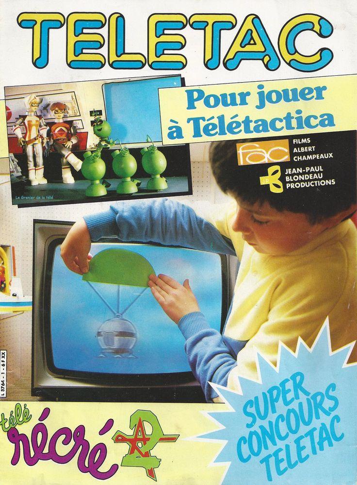 Comme on avait pas assez d'argent de poche étant petites, ma soeur et moi on avait découpé des intercalaires en plastique pour faire des formes et jouer à Télétactica... que de souvenirs ! ! !!