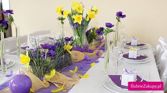 ako správne vyzdobiť stôl na svadbe? - Shop ŚlubneZakupy.pl