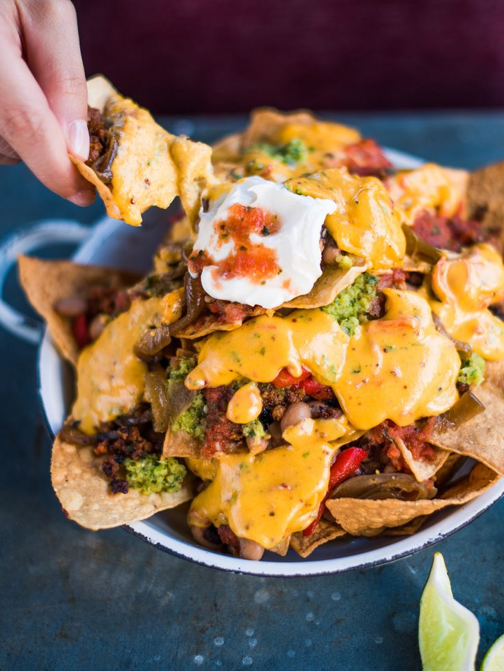 Tupelo Honey Cafe's Pimento Cheese Nachos Recipe
