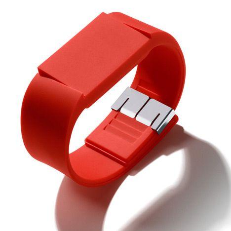 Mutewatch: Elegant Watches, Books Worth, Dezeen Mutewatch, Tock Tick, Damn Ho, Tech, Tick Tock, Design, Red Hot