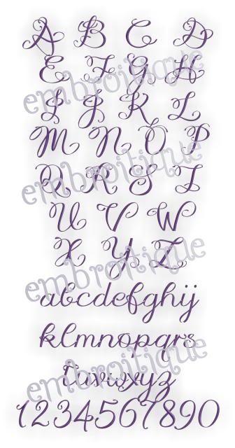 Lucy Monogram Font