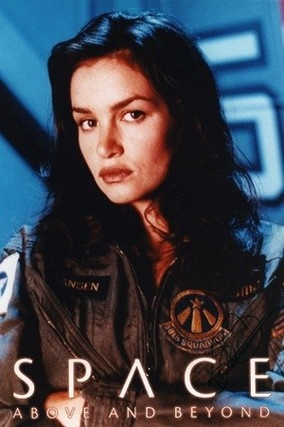 "Space: Above and Beyond - Characters Kristen Cloke — Capt. Shane Vansen (USMC), callsign first episodes ""Ace of Diamonds"", later changed to ""Queen of Diamonds"""