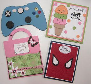 byRob:  Set of Four Kids Card Class. Saturday 8th July 20...