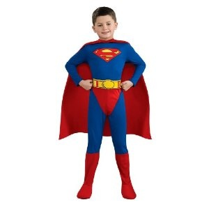 Superman Costume - Child's Fancy Dress - Small