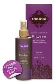 Fake Bake Flawless, 6-Ounce Price : $17.59 http://www.joejoez.com/Fake-Bake-Flawless-6-Ounce/dp/B0046VGPHQ