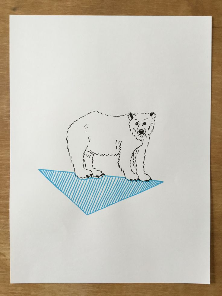 polar bear #illustration #polarbear #kids