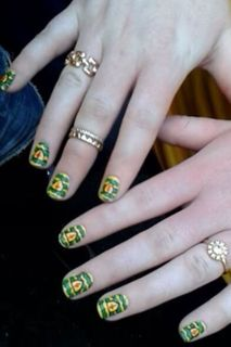 94 best nail art images on pinterest nail arts nail art tips donegal gaa ireland nail art prinsesfo Gallery