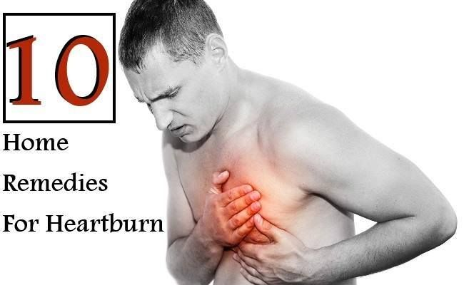 10 Home Remedies For Heartburn